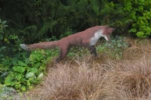 Wire sculpture - fox