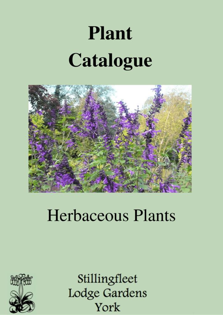 Plant catalogue cover
