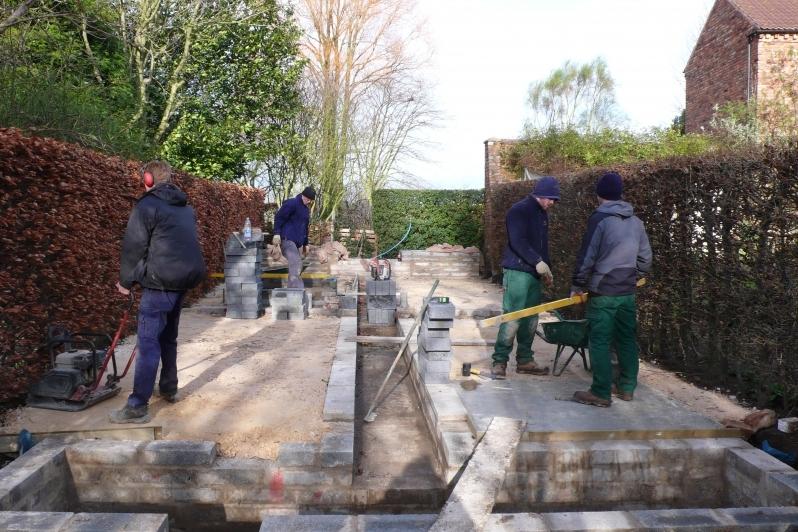 Building the Rill Garden