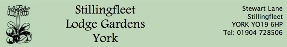 Stillingfleet Garden Logo