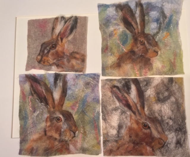 felted picture workshop