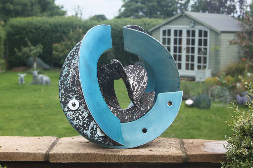 sculpture exhibition by Eric Moss